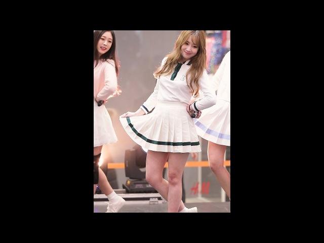 [JIAE] 161217 러블리즈(Lovelyz) 유지애(jiae) - 안녕(Hi~) @크리스마스 스폐셜 콘서트(스퀘어원)/직캠(F