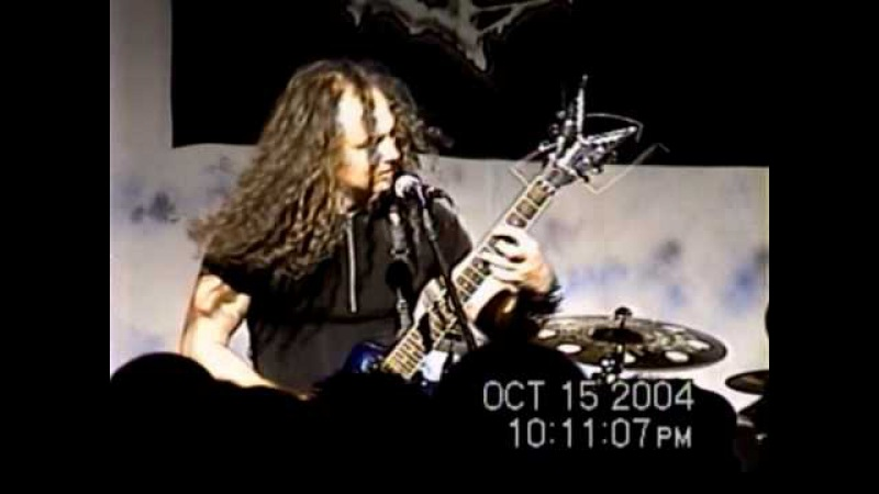 Cryptopsy-Crown of Horns (Live à Chicoutimi, 15 oct 2004)
