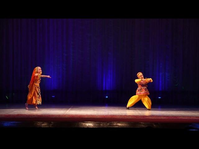 Школа индийского танца Амрапали. Отчетный концерт 27.05.17. Танец Mahi ve