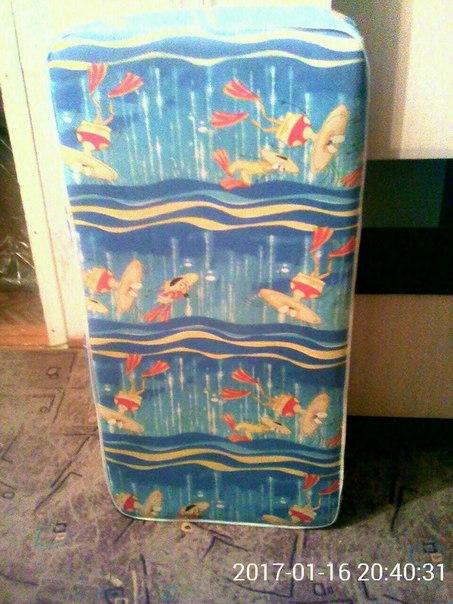 #ВсеДляДетей@bankakomi Продам матрац на детскую кроватку, чистый, не