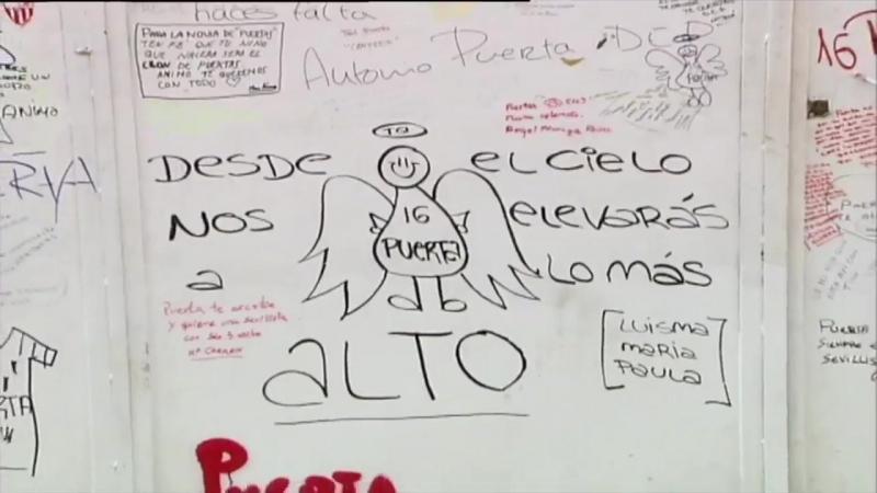 Diez años sin ti Eterno Antonio Puerta