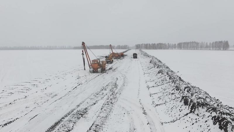 Укртрансгаз збудував та замінив 20 кілометрів транзитного газогону