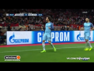 Монако - Манчестер Сити 2:1. Лерой Сане