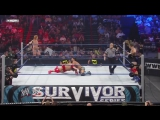WWE Survivor Series 2010 - Justin Gabriel and Heath Slater vs Santino Marella and Vladimir Kozlov (WWE Tag Team Championship)