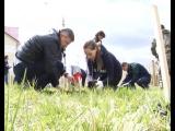 Горожане присоединились к экологической акции Архангельского ЦБК