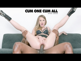Jillian Janson (Cum One Cum All)2017, Brunette, Blowjob, Caucasian, Swallow, IR, Hardcore, HD 1080p