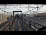 Заезд на поезд через тоннель Ла-Манш