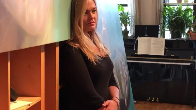 Reisha Perlmutter by Kristina Safonova in Artists in New-York