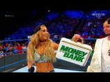 Carmella &amp James Ellsworth address the Women's Money in the Bank Ladder Match controversy