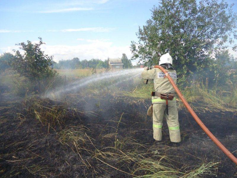 В Зеленчукском районе ожидается высокая пожароопасность