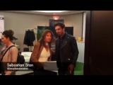 Себастиан в лаунж-зоне брендов thefix и SOREL на кинофестивале в Торонто  08.09.17