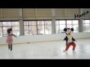 Танец Микки и Минни Мауса в Кудрово