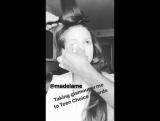 ›› Публикация Мэделин в аккаунте @glamourmag в «Instargam Stories» | 13 августа.
