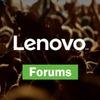 Lenovo-forums