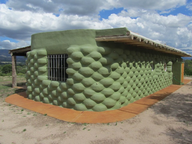 Como hacer una casa de neumaticos, How to Build a tire houses