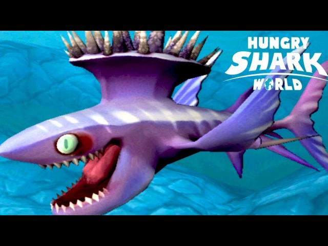 Hungry Shark World - ОТКРЫВАЮ НОВУЮ АКУЛУ - СТЕТАКАНТ (Spike Stethacanthus)