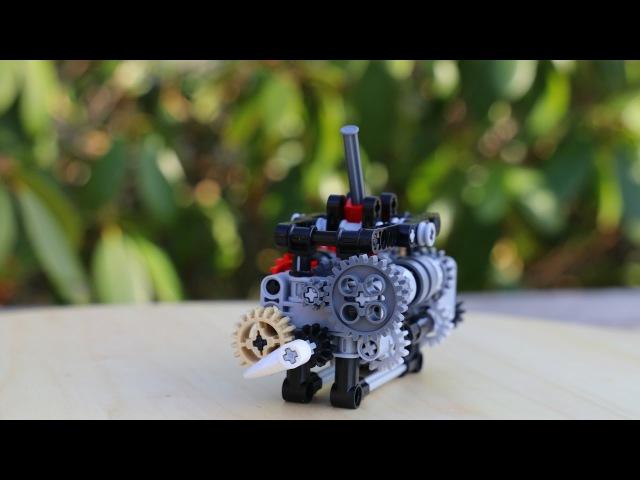Lego Technic 6-speed gearbox w/ instructions