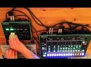 TT 303 through the Roland Aira VT-3 vocoder and TR8