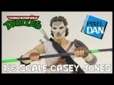 Casey Jones Teenage Mutant Ninja Turtles DreamEX 16 Scale Figure Video Review