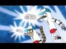 Regular Show parodies Evangelion intro
