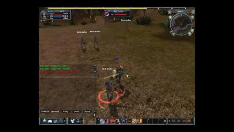 Karos online [Gameplay footage] - MMORPG (CBT)
