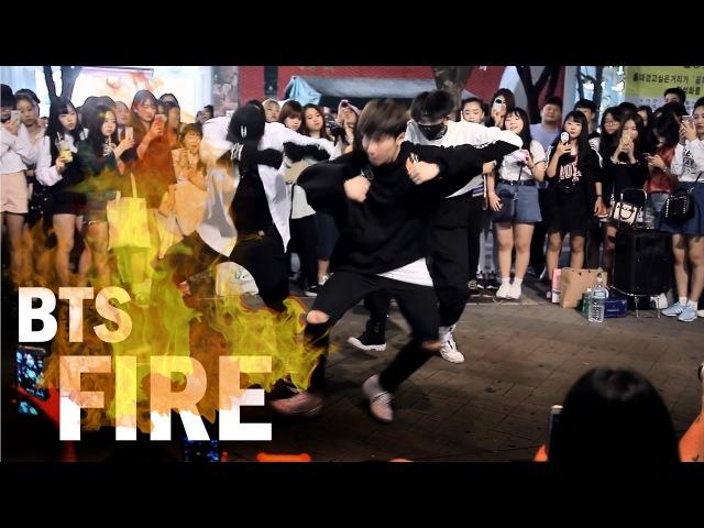 잘생기고 춤잘추면 벌어지는 현상 - 방탄소년단(BTS) 불타오르네(FIRE) 소름 안47924
