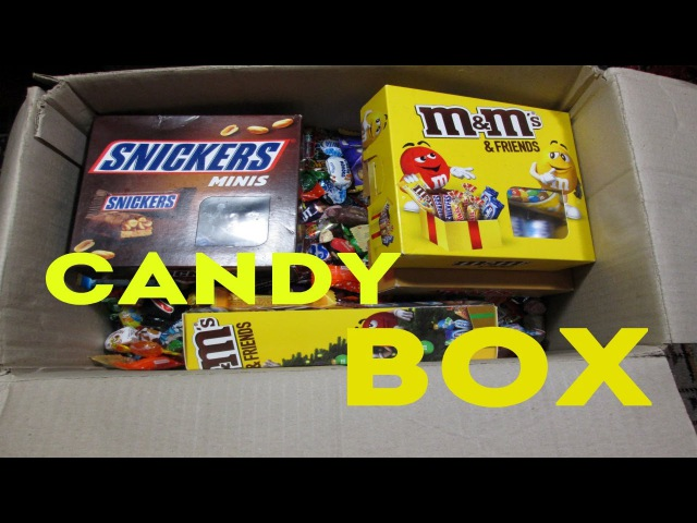 A LOT OF CANDY BOX Full of Sweets for kids