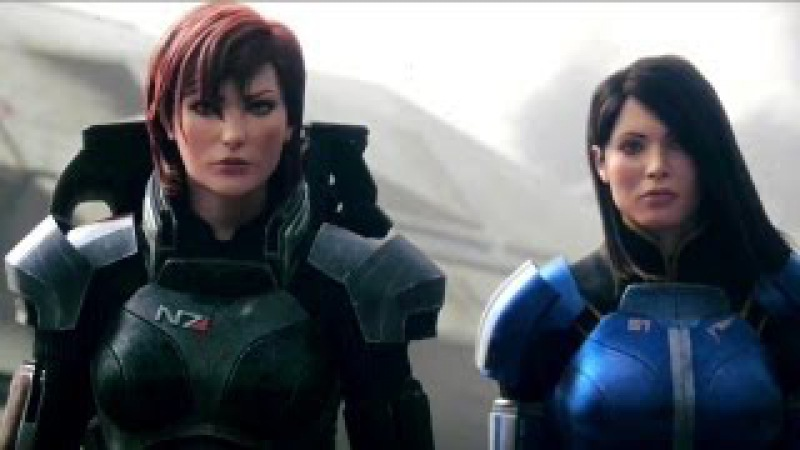 Mass Effect 3 Female Shepard Launch Trailer 2012 Game HD
