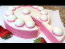 Торт без выпечки КЛУБНИКА СО СЛИВКАМИ. Торт с Клубникой. Хит сезона. STRAWBERRY Cake .