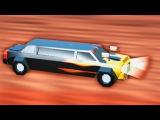 БЕШЕНЫЕ ГОНКИ НА ЛИМУЗИНЕ Битва тачек в игре Crash of Cars Мульт видео для детей