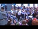 1 сентября школа №5 г Реж флешмоб родителей и детей