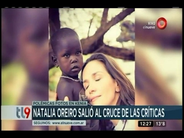 Natalia Oreiro salió al cruce de las criticas
