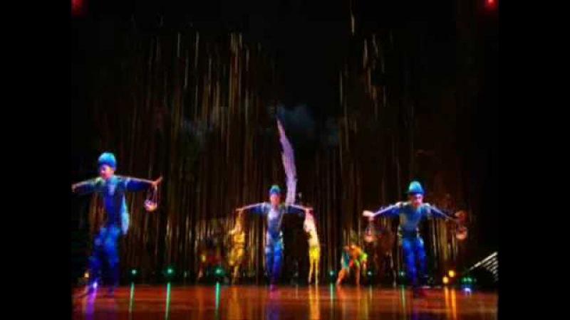Cirque du Soleil's Varekai Water Meteors