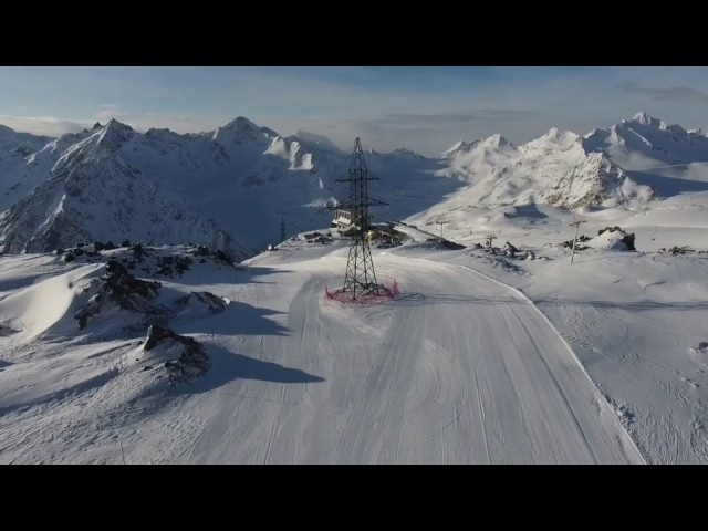 Лыжные трассы АО Курорт Эльбрус 28.01.2017