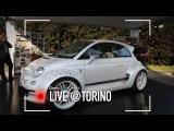 La super Fiat 500 da 350 CV e 150 mila  (Giannini 350 GP)  Parco Valentino 2017