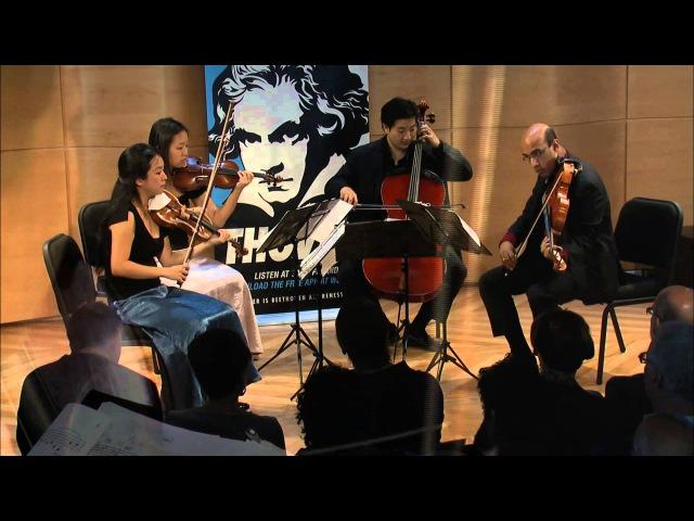 Beethoven String Quartet No. 14 in C-sharp minor, Op. 131 - Afiara Quartet (Live)