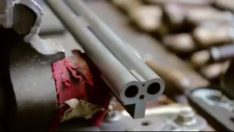 Изготовление двухствольного ружья
