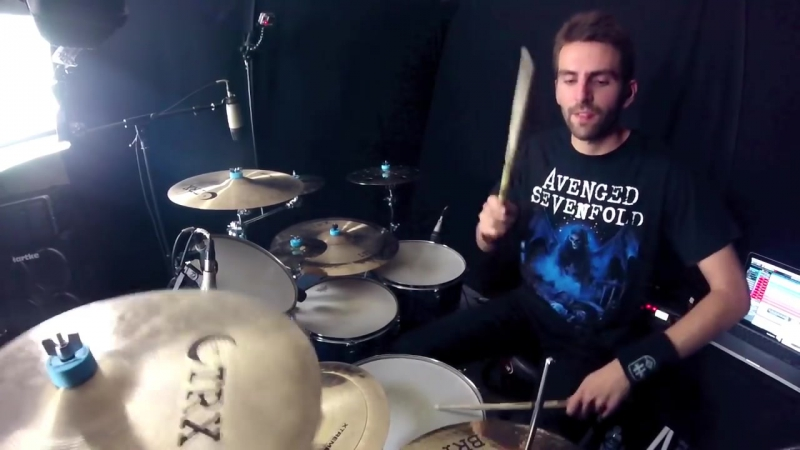 Avenged Sevenfold - The Stage - Drum Cover by Nicolas Defer