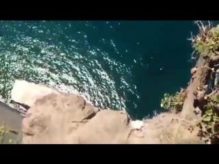 Прыжок со скалы Киселёва