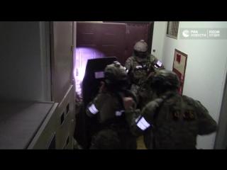 Задержание боевиков, готовивших теракты в Москве