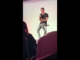 Joseph Morgan on #bloodynightcon