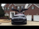 Tesla Model X - Last Holiday Dance Off - Happy New Year