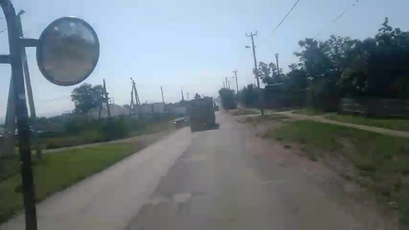 Пьяный водитель грузовика на дорогах Черногорска 27.07.2017 (Часть 1)