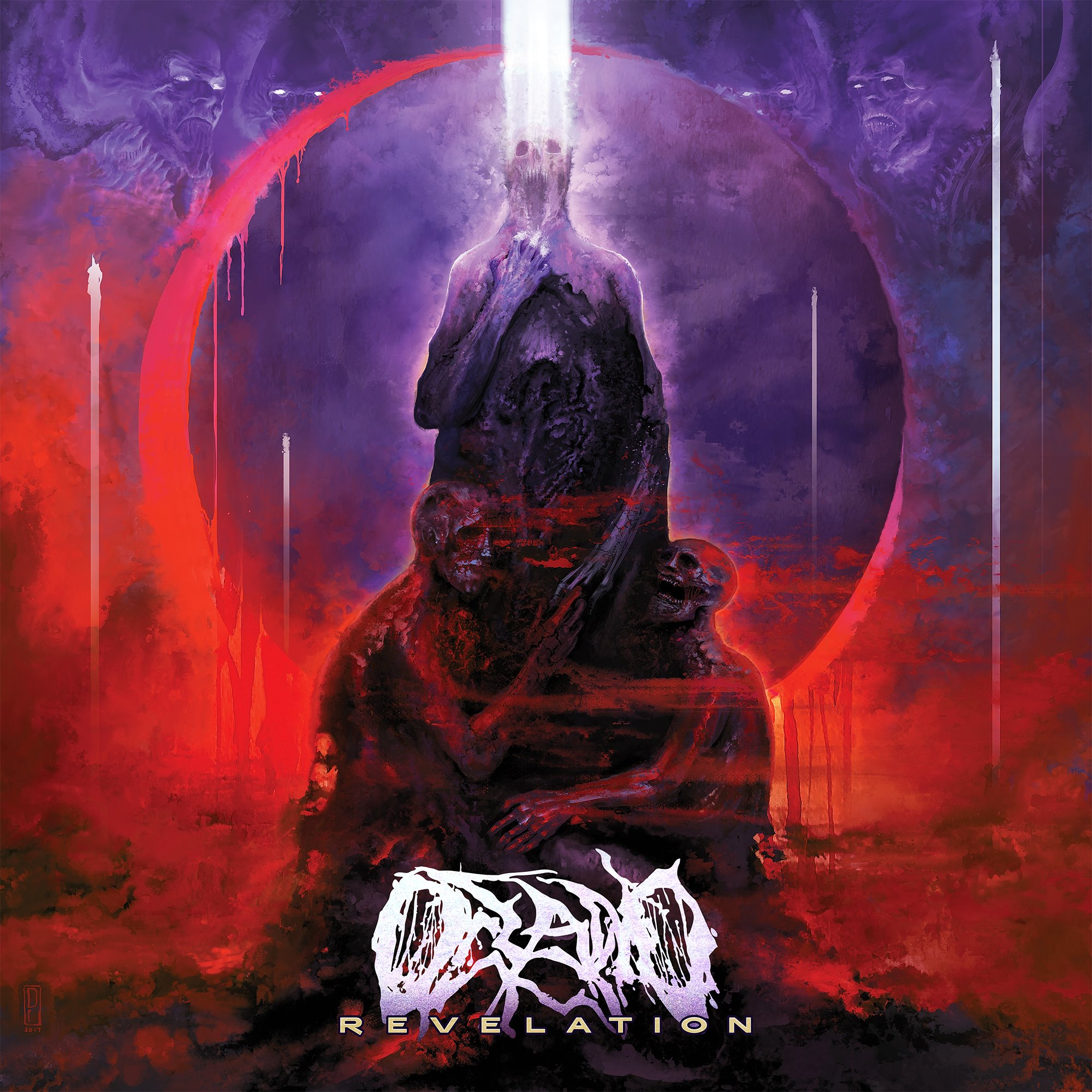 Oceano - The Great Tribulation [single] (2017)