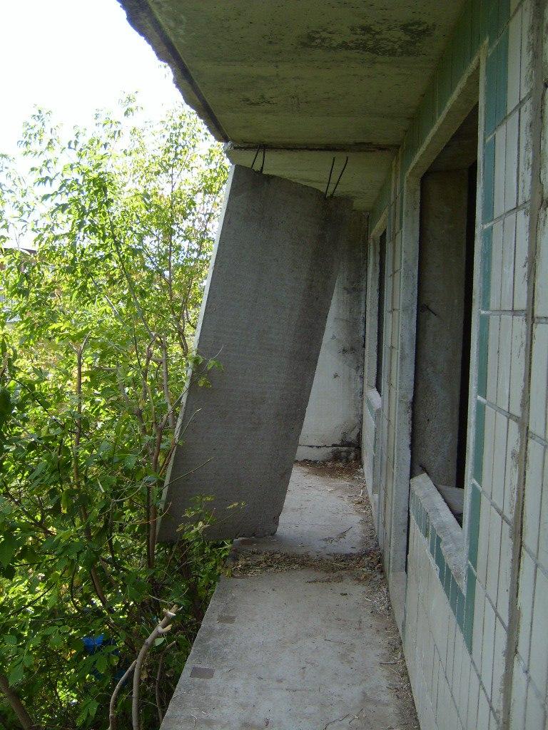 Недостроенная панелька в Орудьево