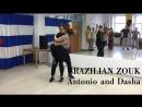 Anton Ishchenko and Dasha Sholina brazilian zouk after class demo