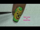1 Decoración de uñas winnie the pooh - Winnie the Pooh nails