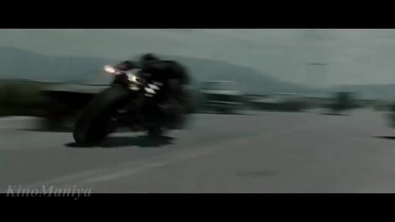 Жнец атакует людей. Терминатор. Погоня_Reaper attack people. Terminator. Chase