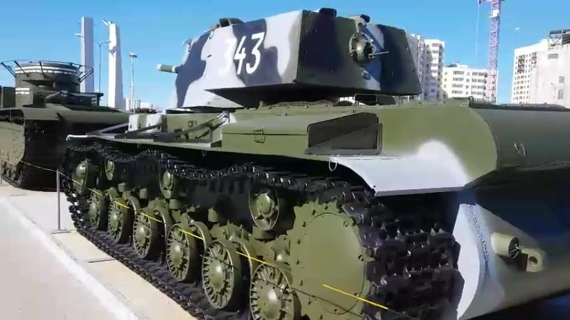 Верхнепышминский музей военной техники. 30.04.2017 г.