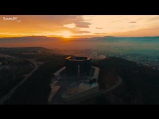 Tbilisi city - ციდან დანახული თბილისი